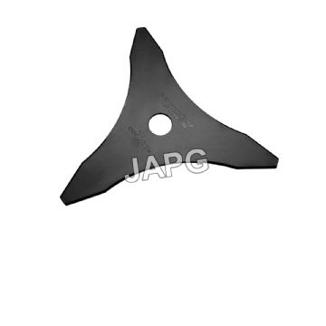 "10"" Tri-Star Grass Blade, For Strimmers, Brush Cutters 25.4mm (1"") Centre Hole"